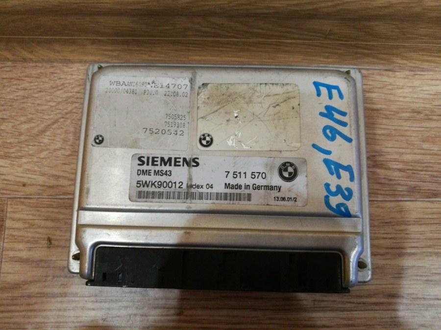 Блок управления двс Bmw 5-Series E39 M54B22