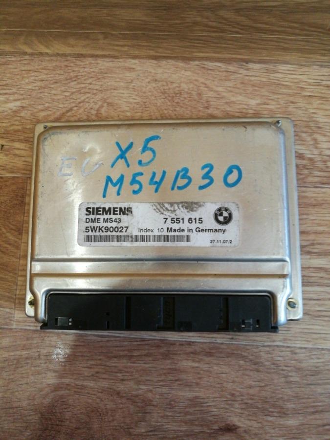 Блок управления двс Bmw 5-Series E39 M54B30