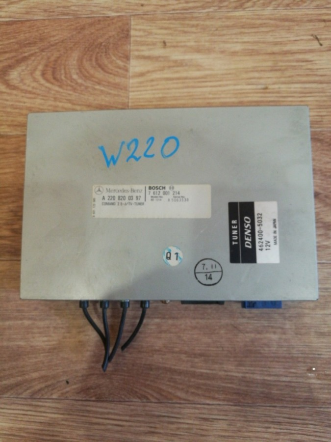 Блок управления tv-тюнером Mercedes-Benz C-Class W203 M112E32