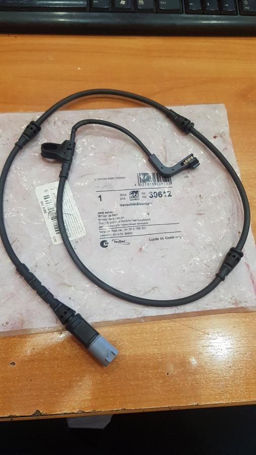 Датчик износа тормозных колодок Bmw X5 E70 передний