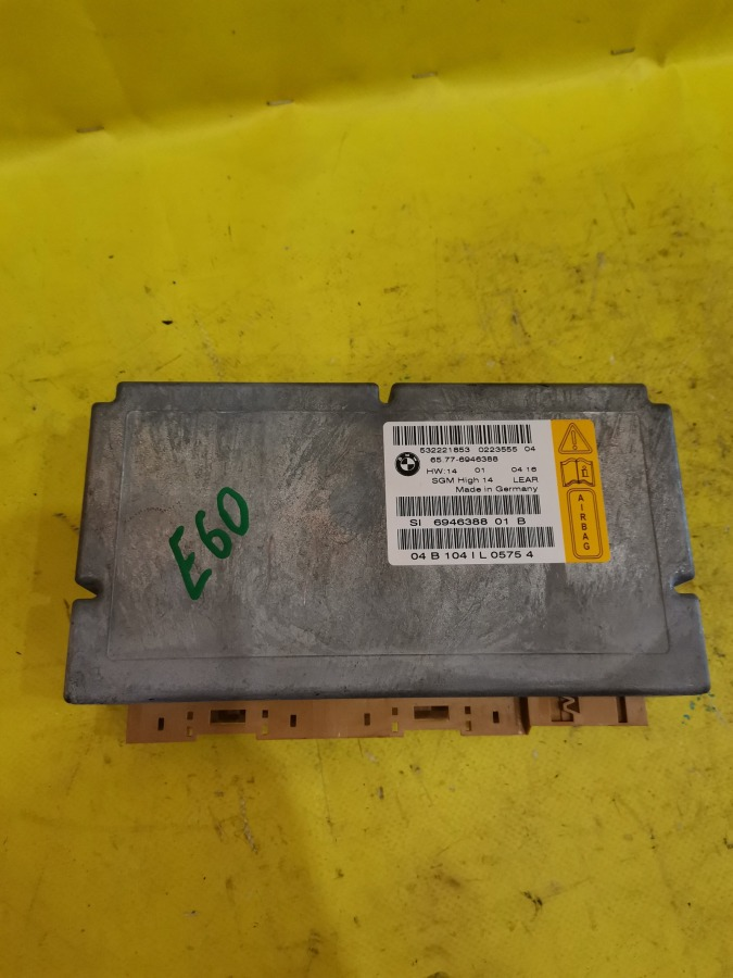 Блок управления airbag Bmw 5-Series E60 M54B30