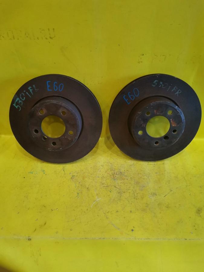 Диск тормозной Bmw 5-Series E60 M54B30 передний
