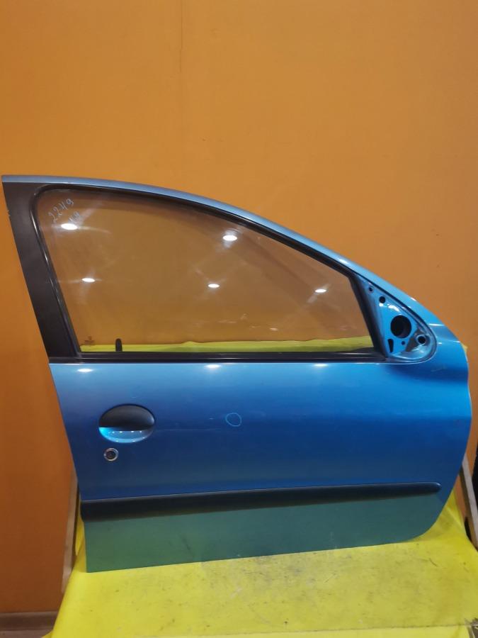 Дверь передняя правая Peugeot 206 2A/C DV4TD передняя правая