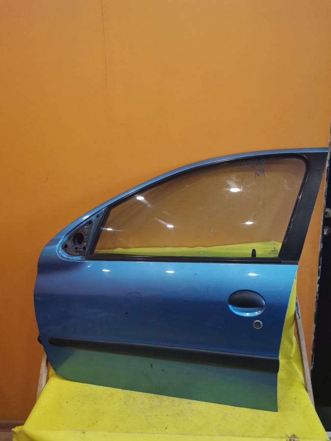 Дверь передняя левая Peugeot 206 2A/C DV4TD передняя левая