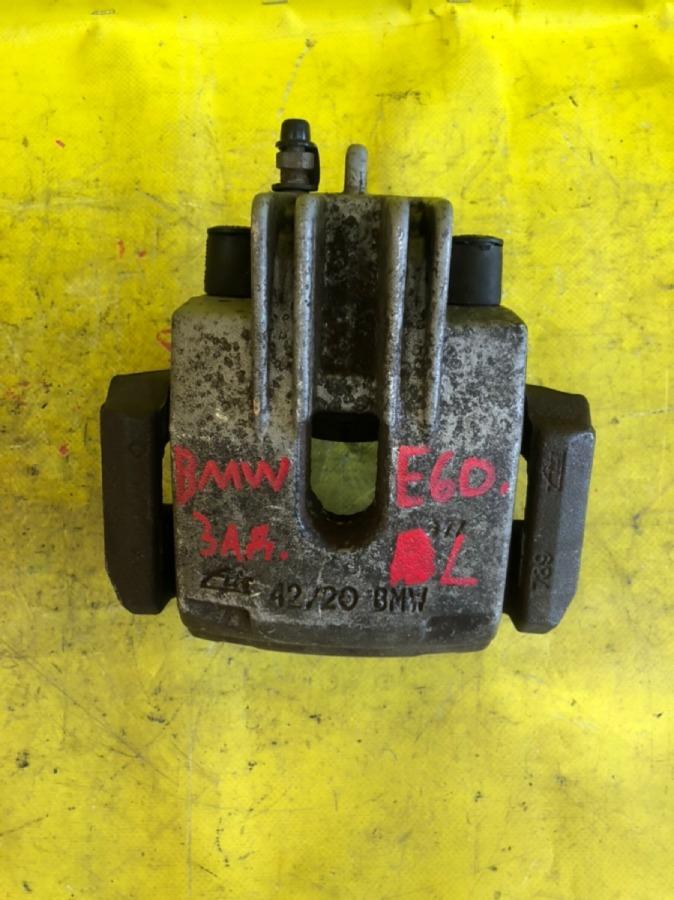 Суппорт тормозной Bmw 5-Series E60 задний левый