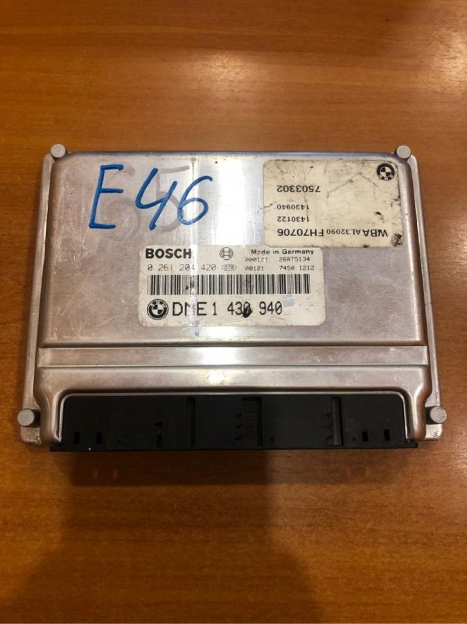 Блок управления двс Bmw 3-Series E46