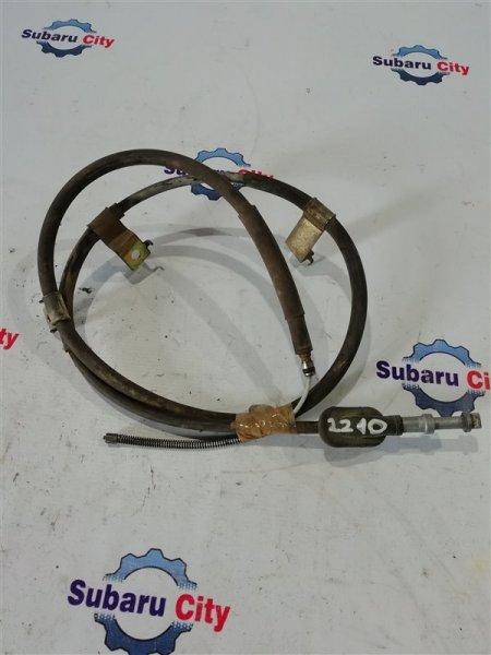 Тросик ручного тормоза Subaru Legacy BE EJ20 1999 левый (б/у)