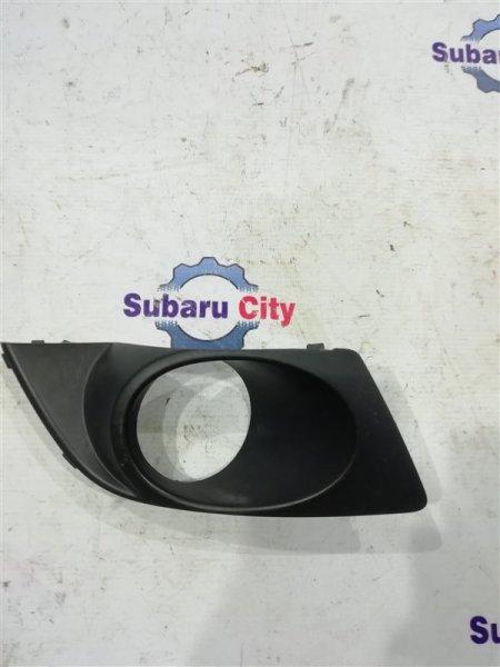 Заглушка в бампер Subaru Legacy BL EJ20 правая (б/у)