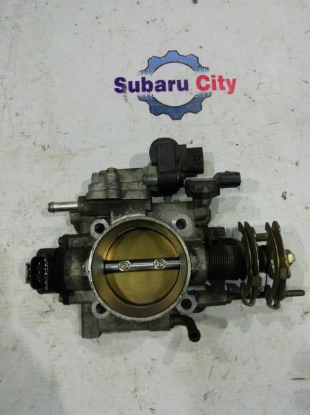 Дроссельная заслонка Subaru Legacy BE EJ206 (б/у)