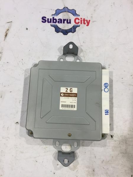 Блок управления двс Subaru Forester SG EJ205 2002 (б/у)