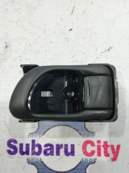 Ручка двери внутренняя Subaru Forester SF5 EJ20 2001 передняя левая (б/у)