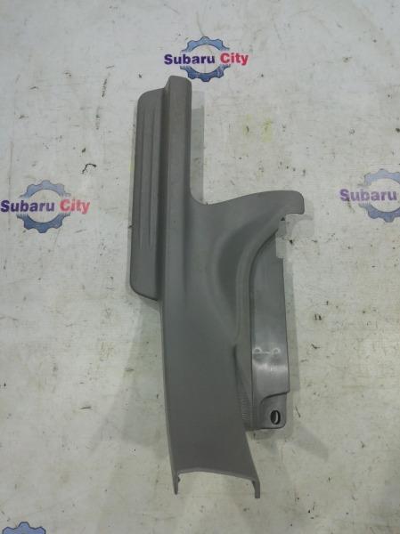 Накладка на порог салона Subaru Forester SG EJ20 2005 задняя левая (б/у)