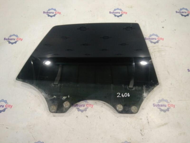 Стекло двери Subaru Legacy B4 BE EJ20 заднее правое (б/у)