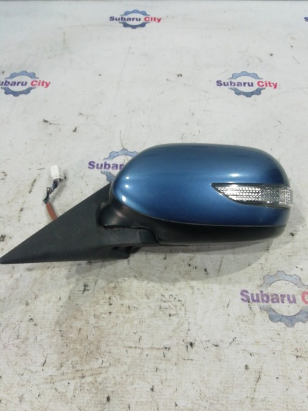 Зеркало Subaru Legacy BL EJ20 2006 левое (б/у)