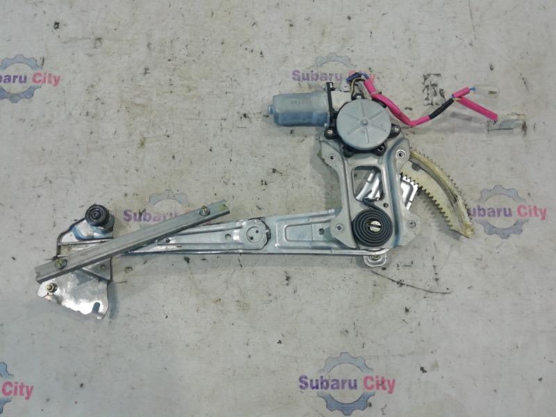 Стеклоподъемник Subaru Forester SG EJ20 2002 передний правый (б/у)
