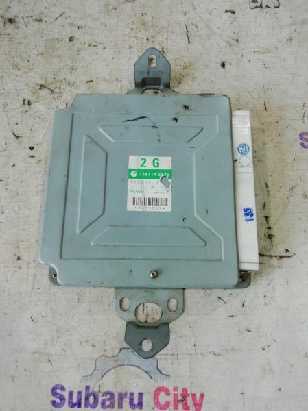 Блок управления двс Subaru Forester SG EJ20 (б/у)