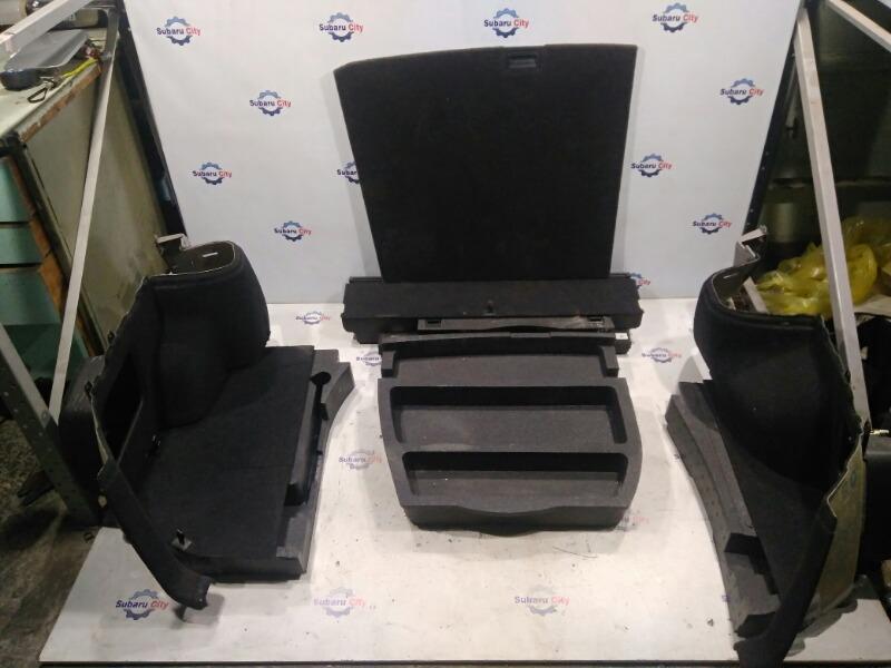 Обшивка багажника Subaru Forester SG EJ20 2002 (б/у)