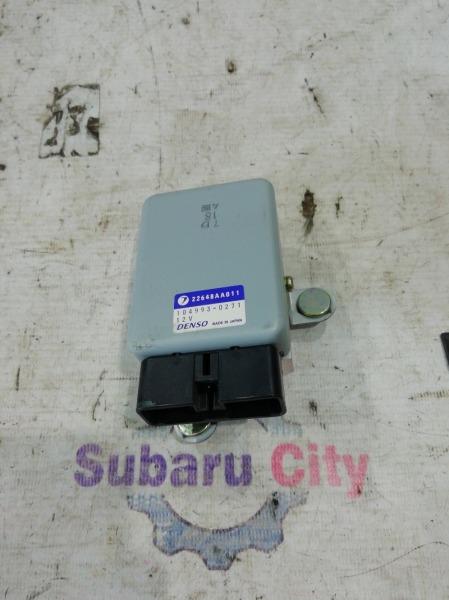 Блок управления топливным насосом Subaru Forester SG EJ20 2002 (б/у)