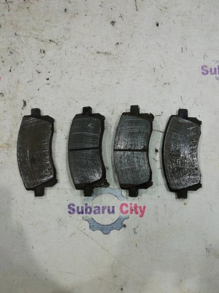 Тормозные колодки Subaru Forester SF EJ20 2000 переднее (б/у)
