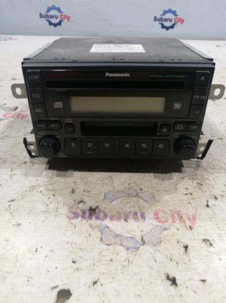 Магнитофон Subaru Forester SF5 EJ20 2001 (б/у)