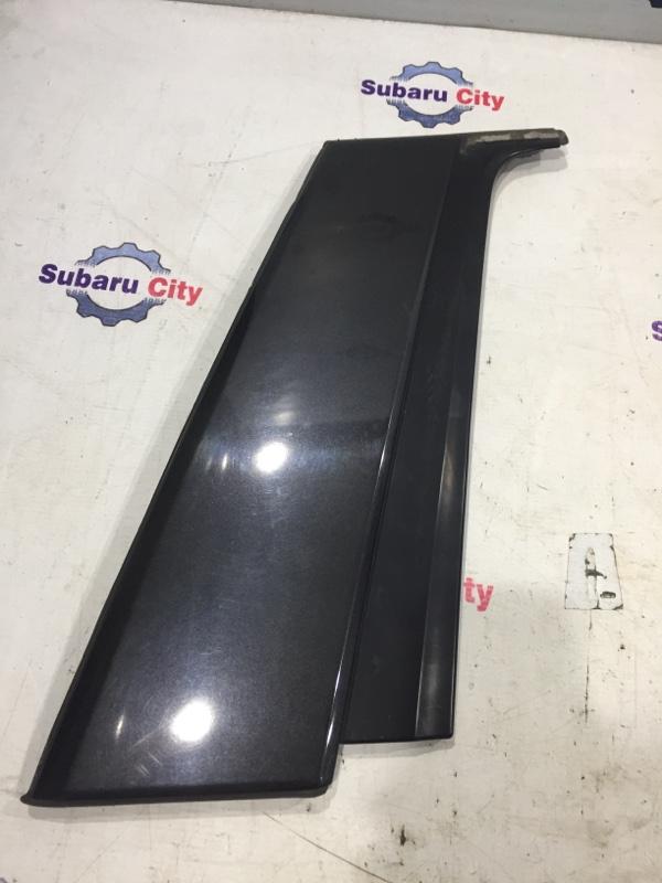 Накладка на стойку наружная Subaru Forester SG EJ20 2004 задняя правая (б/у)