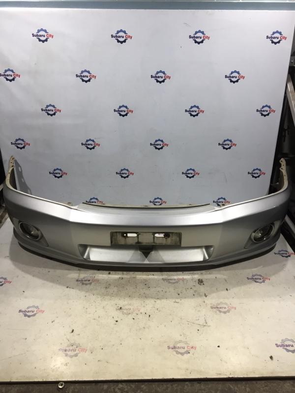 Бампер Subaru Forester SG EJ20 2002 передний (б/у)