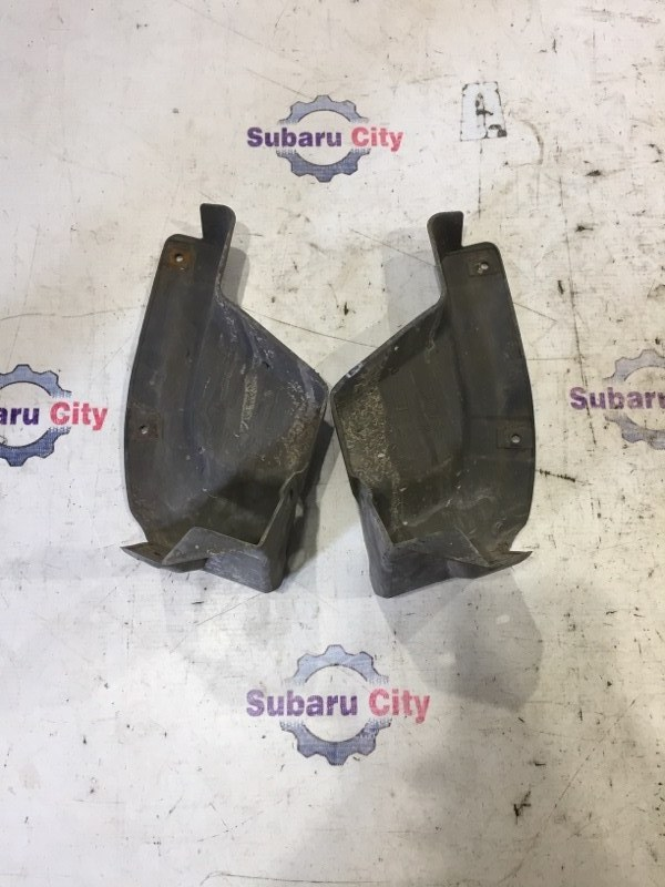 Брызговики Subaru Forester SG EJ20 2002 задние (б/у)