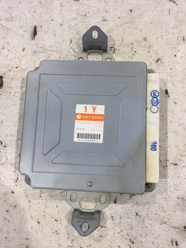 Блок управления двс Subaru Legacy BE EJ206 2003 (б/у)