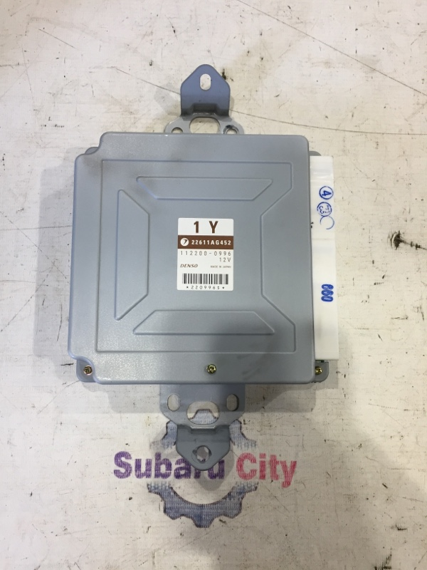 Блок управления двс Subaru Legacy BE EJ206 2002 (б/у)
