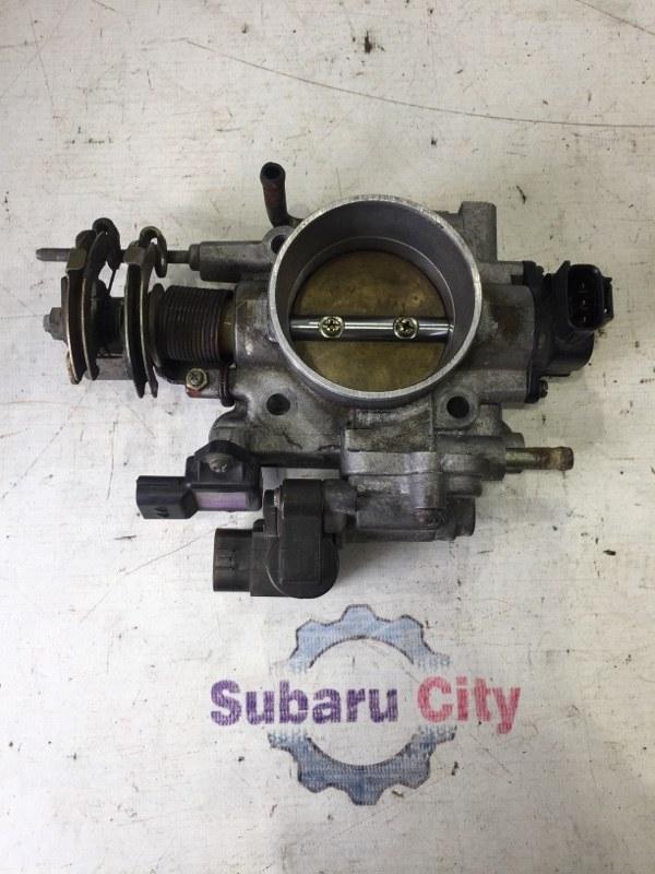 Дроссельная заслонка Subaru Legacy BE EJ206 2002 (б/у)