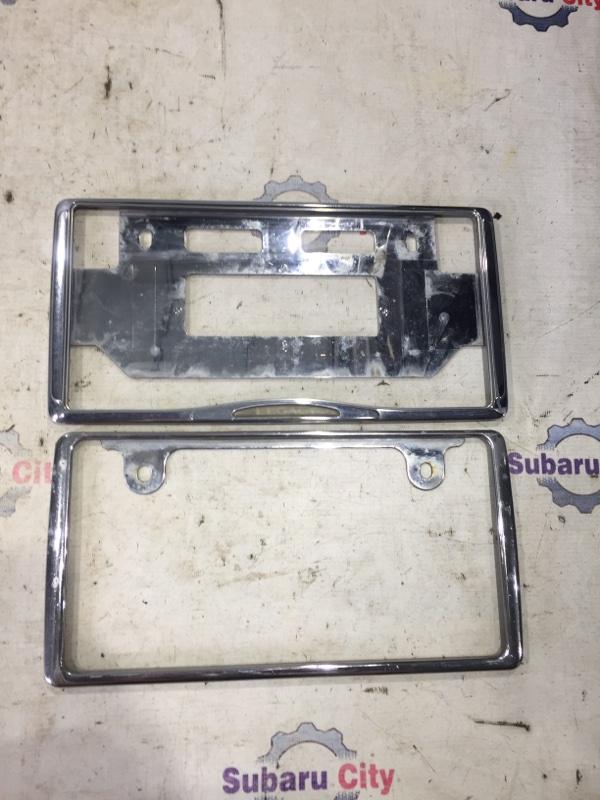 Рамка номера Subaru Legacy BE EJ20 2002 (б/у)