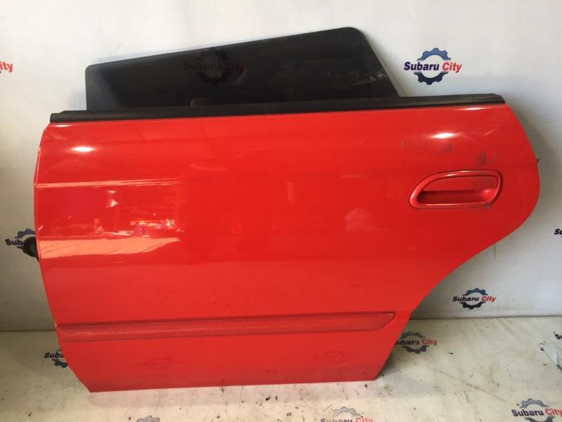 Дверь Subaru Legacy BE EJ20 2001 задняя левая (б/у)