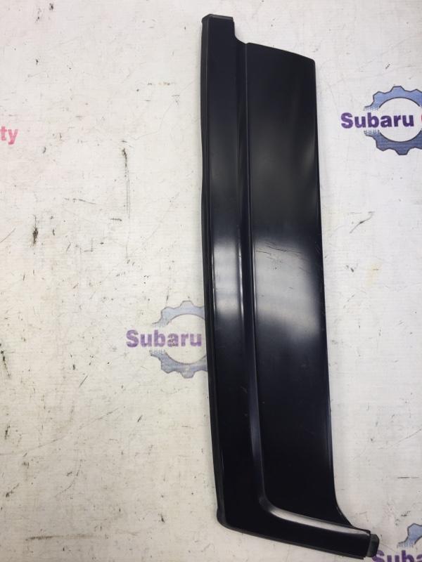 Накладка на стойку наружная Subaru Forester SF EJ20 1998 левая (б/у)