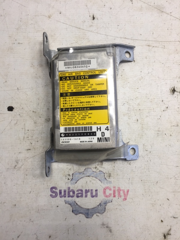 Блок srs Subaru Forester SF EJ20 1998 (б/у)