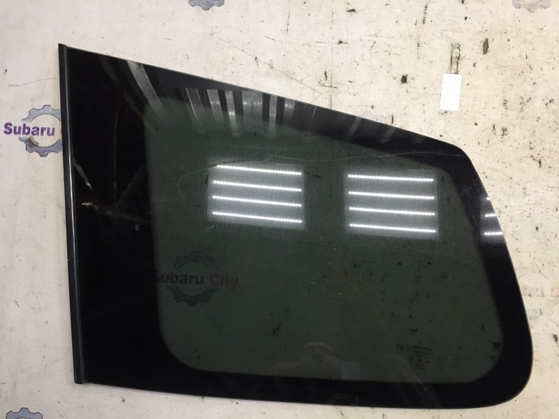 Стекло собачника Subaru Forester SH EJ20 2009 левое (б/у)