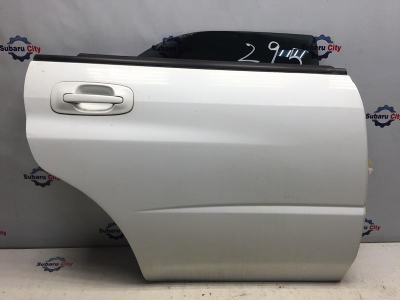 Дверь Subaru Impreza GD EJ15 2000 задняя правая (б/у)