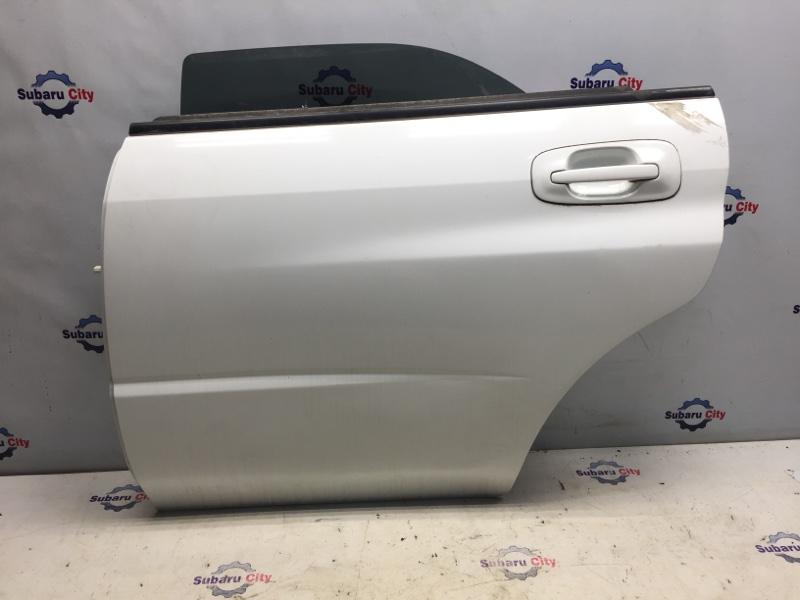 Дверь Subaru Impreza GD EJ15 2000 задняя левая (б/у)