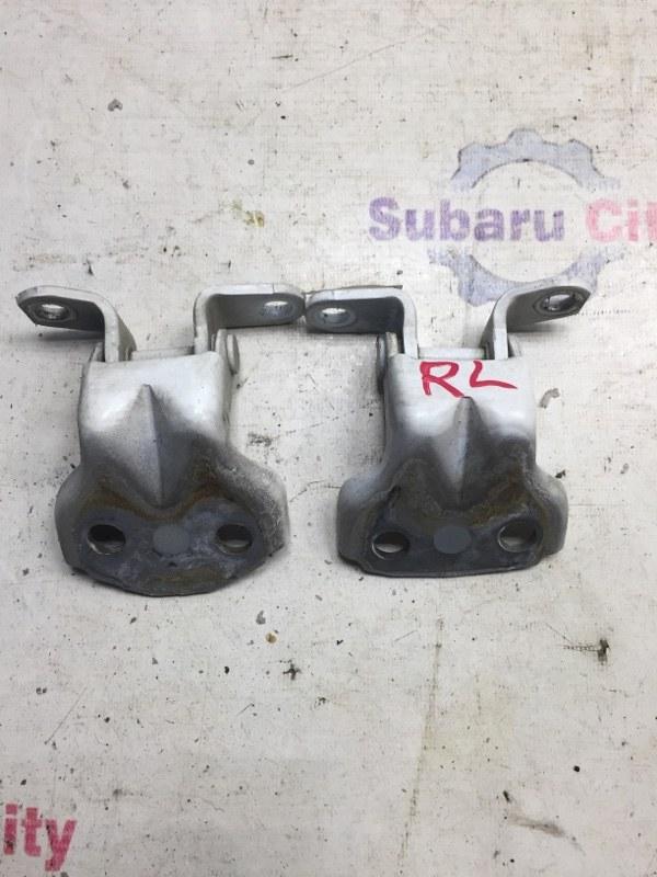 Петли двери Subaru Impreza GD EJ15 2000 задние левые (б/у)