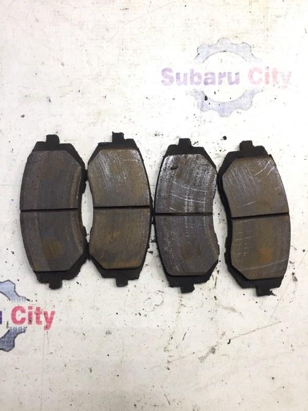 Тормозные колодки Subaru Impreza GD EJ15 2000 переднее (б/у)