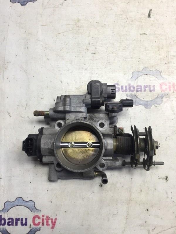 Дроссельная заслонка Subaru Impreza GD EJ20 2000 (б/у)