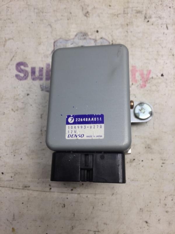 Блок управления топливным насосом Subaru Legacy BE EJ20 1999 (б/у)