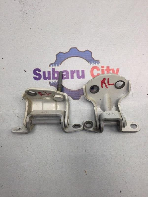 Петли двери Subaru Legacy BE EJ20 задние левые (б/у)