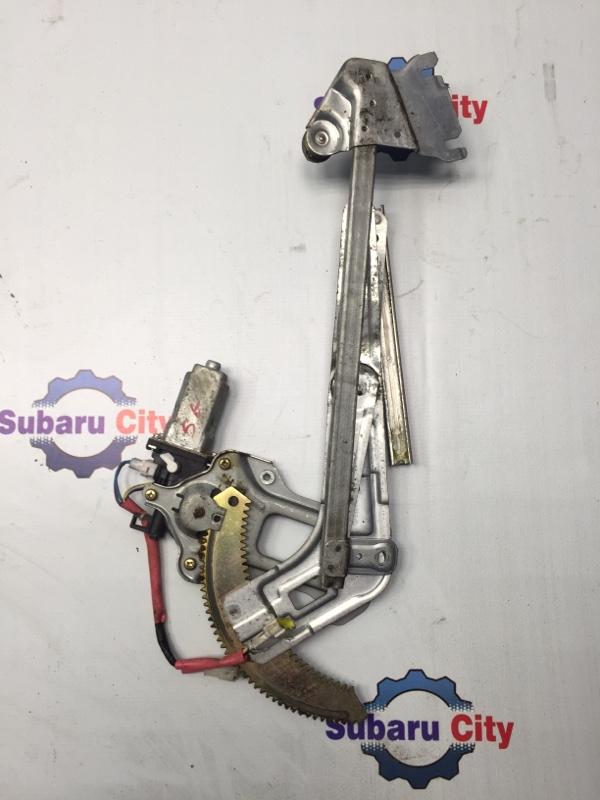 Стеклоподъемник Subaru Forester SG EJ20 передний правый (б/у)