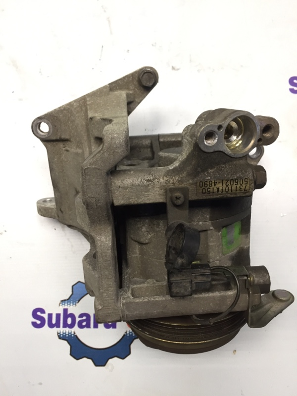 Компрессор кондиционера Subaru Forester SF EJ20 1999 (б/у)
