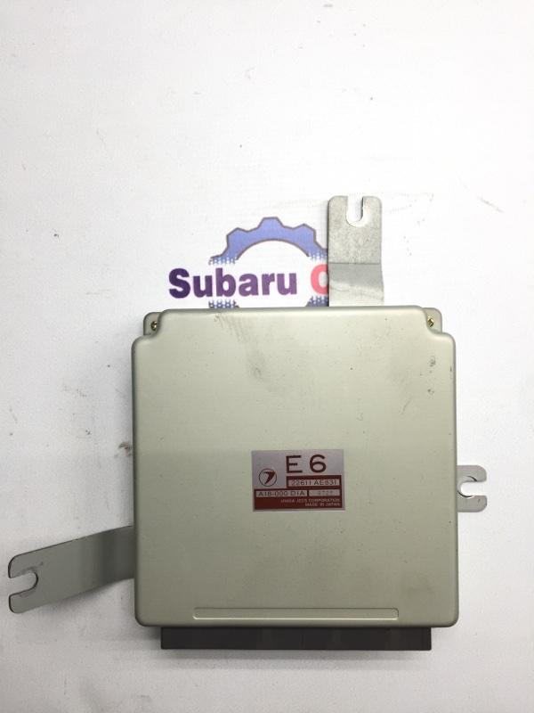 Блок управления двс Subaru Forester SF EJ20 1999 (б/у)