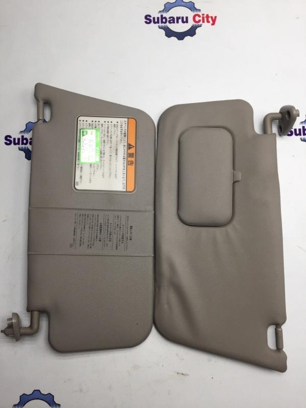 Козырек солнцезащитный Subaru Forester SF EJ20 1999 (б/у)