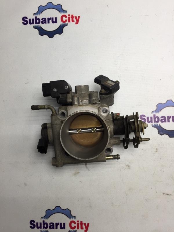 Дроссельная заслонка Subaru Legacy BE EZ30 2002 (б/у)