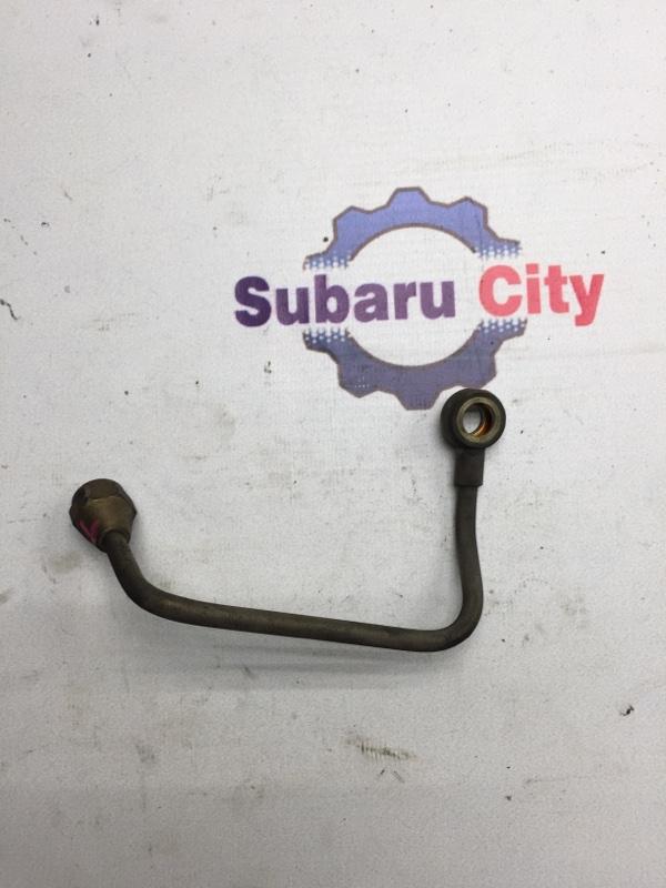 Трубка масло подачи турбины Subaru Legacy BE EJ206 2001 левая (б/у)