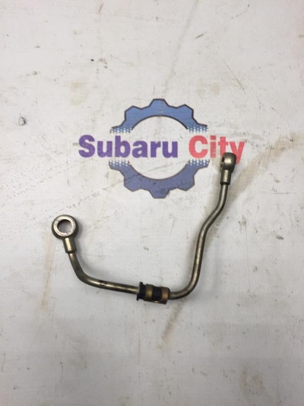 Трубка масло подачи турбины Subaru Legacy BE EJ206 2001 правая (б/у)