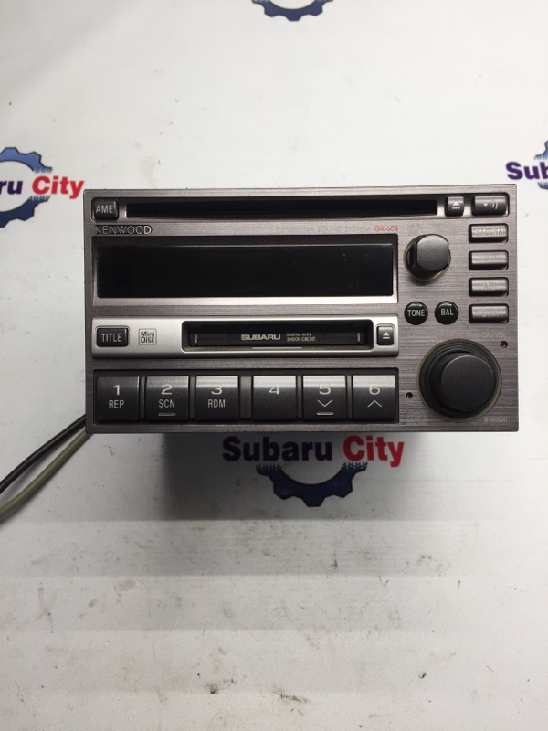 Магнитофон Subaru Legacy BE EJ20 2001 (б/у)
